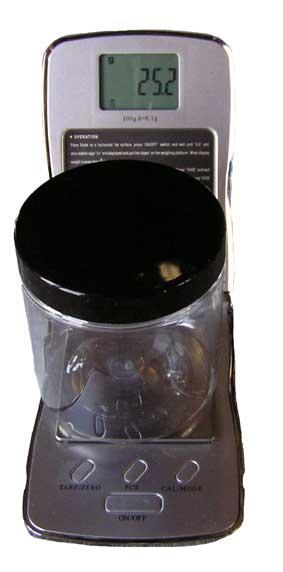 pigmentvåg 0,1-300 g