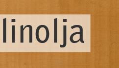 linolja