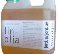 rå kallpressad linolja 1 l